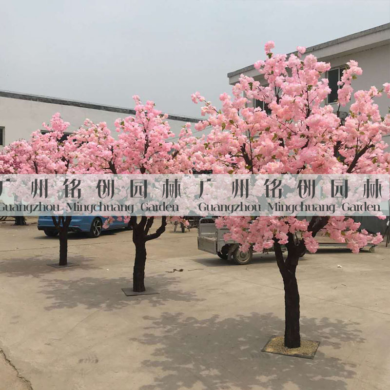 仿真造型樱花树