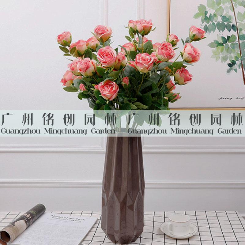单支6叉玫瑰花