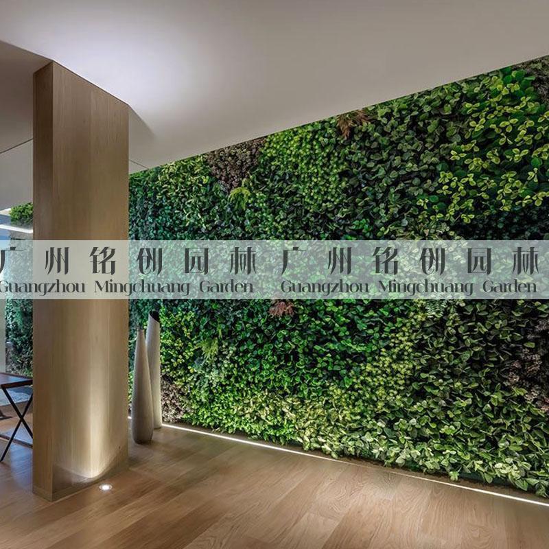 保利熙悦府样板房植物墙