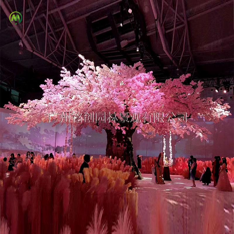 婚礼仿真樱花树
