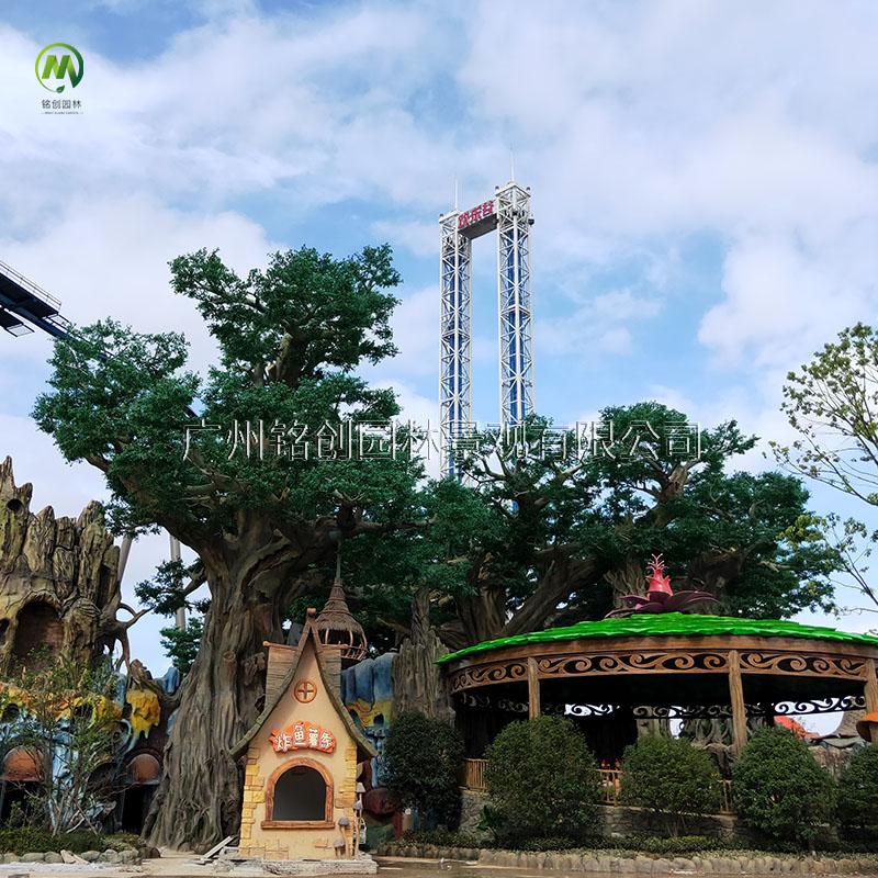 南京华侨城大型榕树