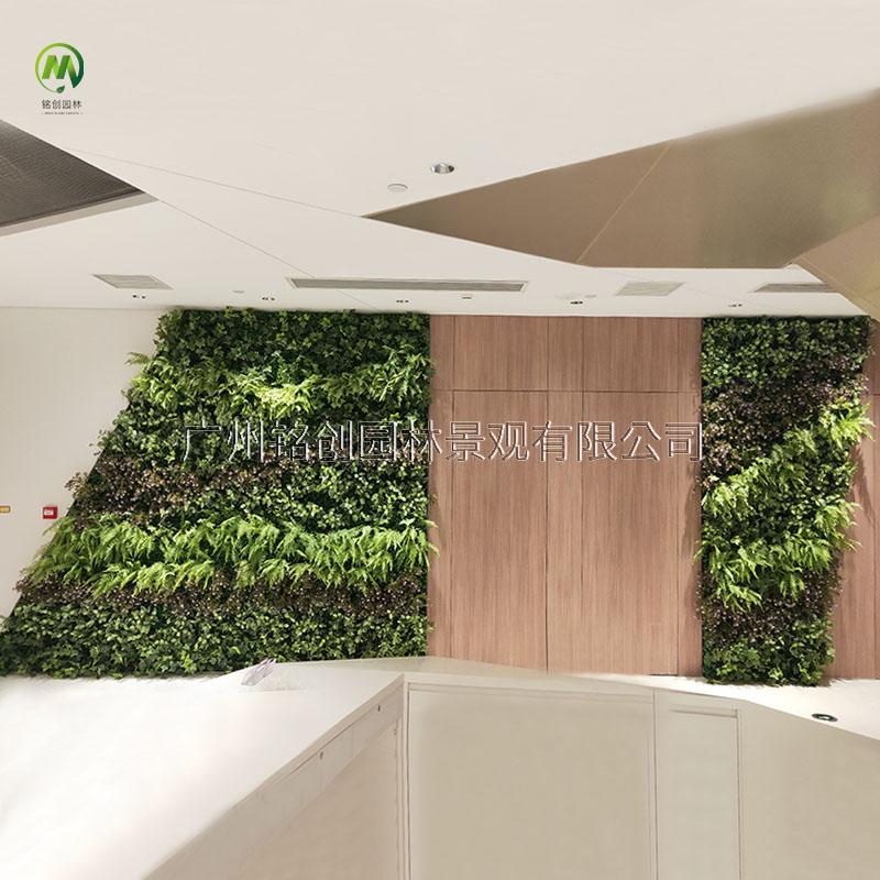 广州联合广场室内植物墙